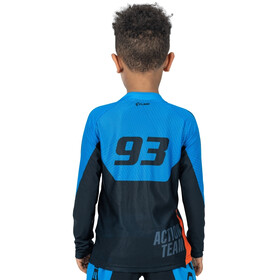 Cube Junior X Actionteam Langarm Trikot Kinder black´n´blue